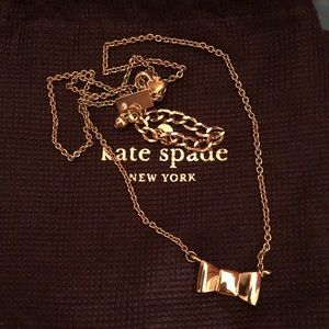 Kate Spade Gold Bow Necklace